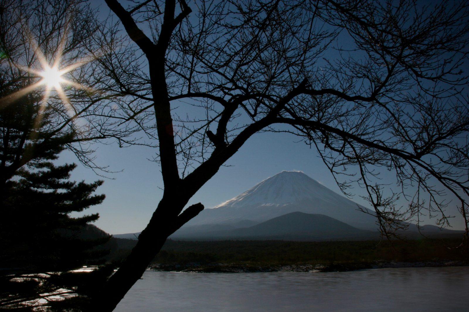Sonnenaufgang Fuji Honshu Japan Zorillafilm