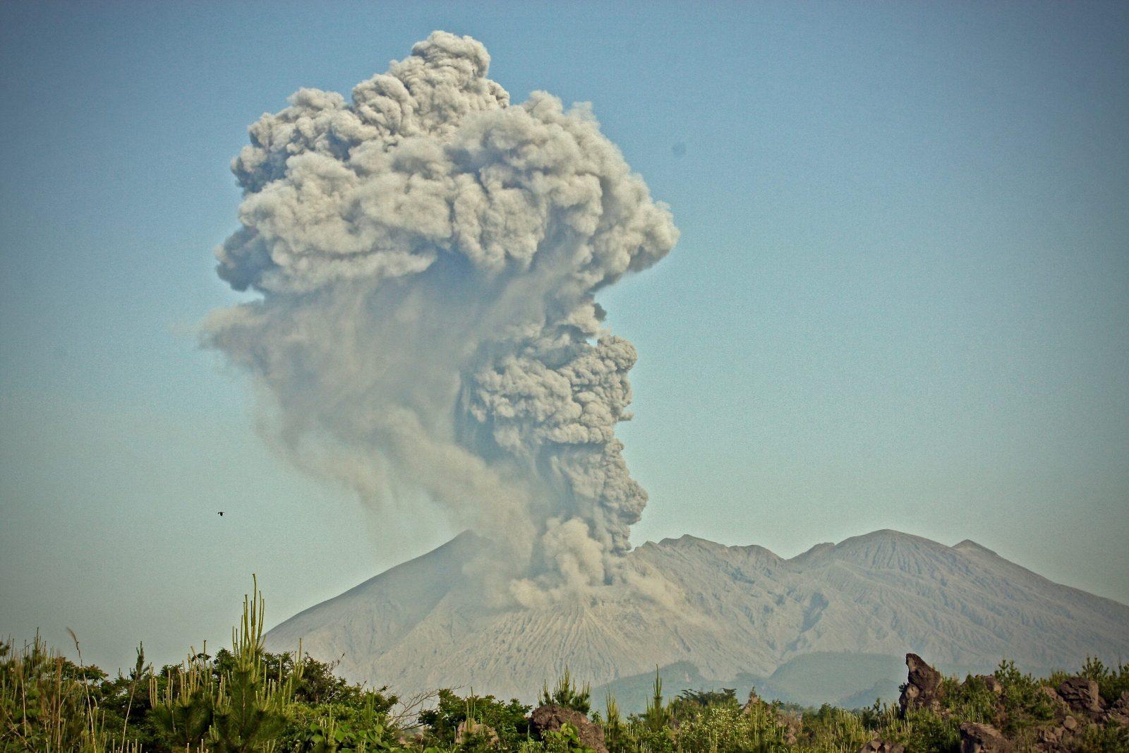 Vulkanausbruch Sakurajima Japan Zorillafilm