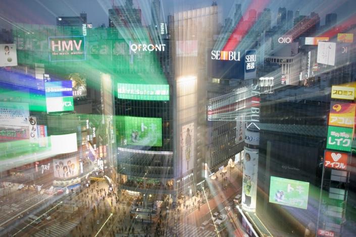 Japan Shibuya Night Zorillafilm